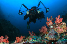 Underwater Photographer Scuba ...