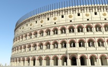 Coliseum Amphitheater In Rome ...