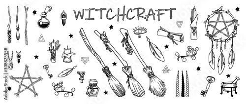 Obraz na plátne Witchcraft