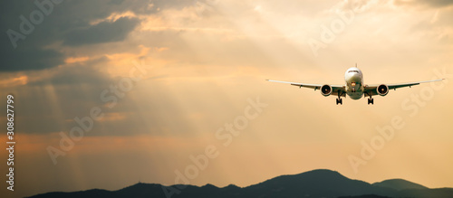 Photo Passenger airplane