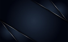 Luxurious Navy Background Metallic Lines
