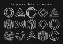 Geometric Shapes Optical Illusions