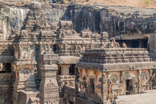Kailasa Temple In Ellora, Maha...