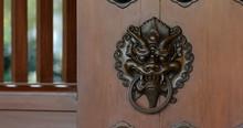 Lion Head Door Handle In Chine...