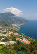 View over Gulf of Salerno from Ravello, Campania, Italy