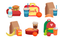 School Lunch Boxes Collection,...