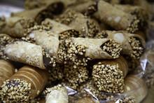 Puff Pastry Rolls Chocolate