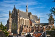 Hooglandse Kerk Gothic Church In Leiden