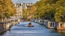 Traditional Dutch Houses On Wa...
