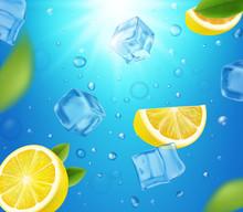 Lemons, Ice Cubes And Sun Shin...