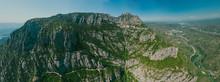 Montserrat Monastery And Road ...