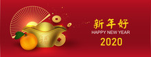 Chinese New Year With Auspicio...