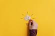 canvas print picture - Conceptual image of creativity and idea