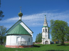 The Golden Ring Of Russia. Suzdal, Boris And Gleb Church In Kideksha