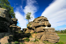 The Gritstone Rock Formations ...
