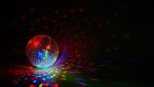 Glittering Mirror Disco Ball. ...