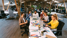Coworking Process. Designers W...