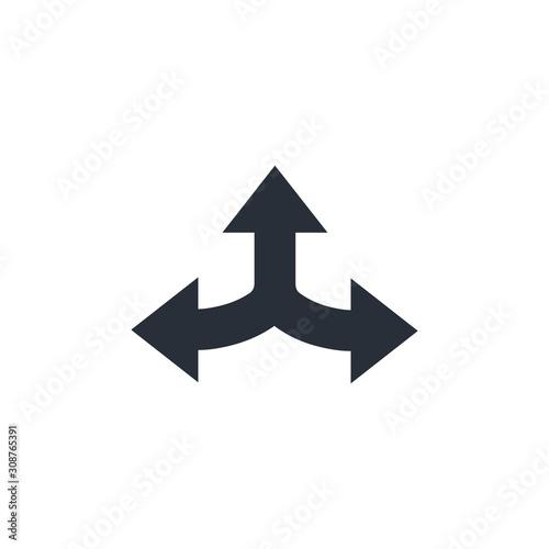 Roads in different directions Slika na platnu