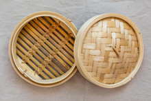 Bamboo Steamer Set, Chinese Ki...