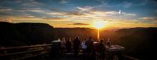 Sunset At Black Canyon Nationa...