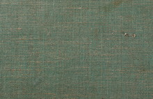 Old Green Cloth Texture Background, Book Cover