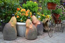 Garden Sculptures In The Garde...