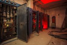 Switchgear Cabinets With Broke...