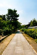 Garden Of Kenninji Temple. Hig...