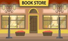 Bookstore Building Fa Ade. A L...