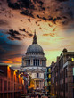Sunset at St Pauls
