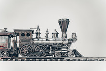 Silver Steam Train