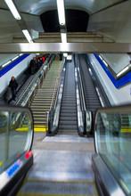 Metro In Madrid, Spain