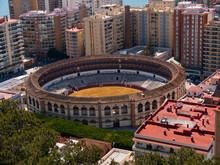 Malaga, Andalusia, Bullring On...