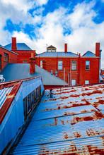 Rusty Corrugated Iron Roofs, C...