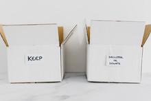 Decluttering Concept, Storage ...