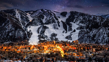 Aspen Colorado With Stars In B...