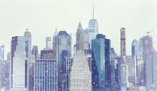 Toned Photo New York City Manh...