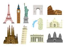 World Famous Buildings Vector ...