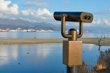Binoculars On The Bridge