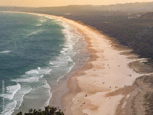 Fotografie, Obraz Tallow Beach, Byron Bay Australia