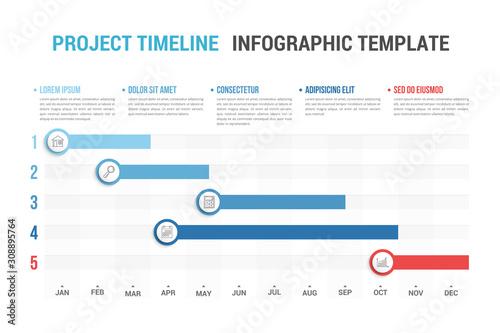 Timeline Infographics Canvas