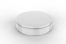 Blank Round Tin Container For ...