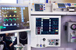 canvas print picture Monitors of medical devices