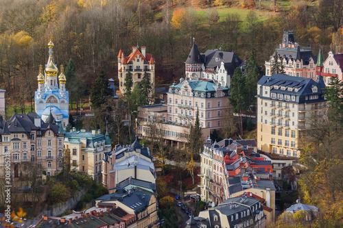 Karlovy Vary in Czech Republic Canvas Print