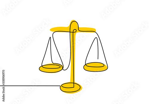 Papel de parede Weight balance symbol