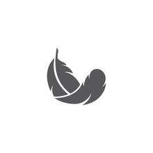 Feather Logo Template Vector I...
