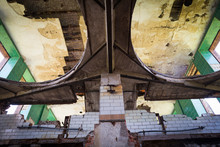"""Abandoned Beer Brewery """"Bordebrauerei"""" Before Rebuilding Into Appartments, Magdeburg, Germany"""