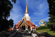 Wat Bang Riang, Wat Rat Upathamin, Temple In Khao Lan Mountains Of Phang Nga Province, Thailand