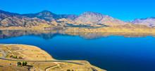 Aerial View Of Isabella Lake, California