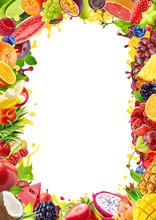 Assorted Fresh Fruits Berries ...